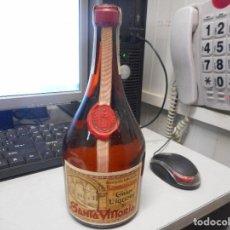 Coleccionismo de vinos y licores: BOTELLA LICOR PRECINTO ESPAÑOL GRAN LIQUORE DE SANTA VITTORIA PERFECTO ESTADO. Lote 102019467