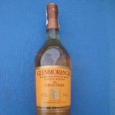 Coleccionismo de vinos y licores: WHISKY GLENMORANGIE - THE ORIGINAL- 10 AÑOS. Lote 103130131