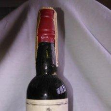 Coleccionismo de vinos y licores: BOTELLÍN DE VINO PEDRO XIMÉNEZ SELECTO. BODEGAS EDUARDO DELAGE, E.D. ATANÉ. JEREZ. BOTELLITA. A1221.. Lote 103212887
