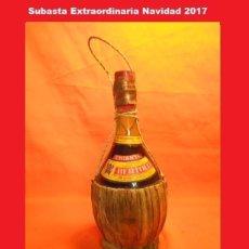 Coleccionismo de vinos y licores: BOTELLA VINO CHIANTI BERTOLLI 1970. Lote 102068111
