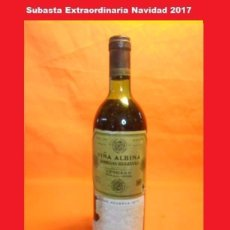Coleccionismo de vinos y licores: VIÑA ALBINA GRAN RESERVA 1970 . Lote 103843863