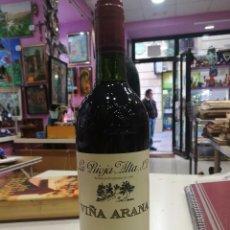 Coleccionismo de vinos y licores: BOTELLA RIOJA RESERVA 1993 VIÑA ARANA.¡IMPECABLE!. Lote 104277439