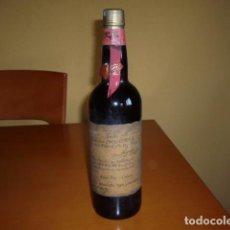 Coleccionismo de vinos y licores: BOTELLA DE VINO TINTO CARIÑENA DE LA CASA DE VICENTE SUSO PEREZ AÑOS 70. Lote 104718851