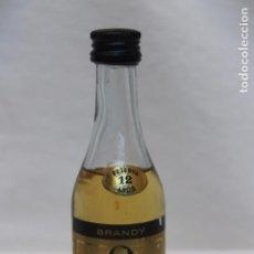 Coleccionismo de vinos y licores: ANTIGUO BOTELLIN BRANDY NAPOLEON, RESERVA 12 AÑOS. Lote 104941667