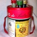Coleccionismo de vinos y licores: PACK DE 3 BOTELLIN DE PEDRO DOMECQ. JANDILLA AMONTILLADO, FUNDADOR Y VINO QUINADO.BOTELLINES.A1601.. Lote 79631573