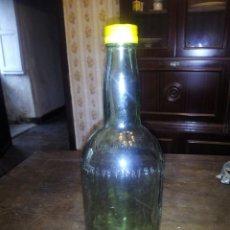 Coleccionismo de vinos y licores: BOTELLON CARLOS Y JAVIER DE TERRY CON TAPON DE ROSCA. BOTELLA. Lote 105728335