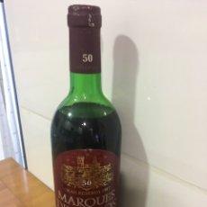 Coleccionismo de vinos y licores: BOTELLA VINO MARQUÉS DE TOSOS GRAN RESERVA 1987 50 ANIVERSARIO CARIÑENA. Lote 144014285