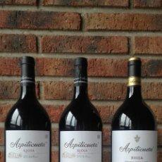 Coleccionismo de vinos y licores: 3 BOTELLAS AZPILICUETA MAGNUM TINTO RESERVA. AÑOS: 2010 - 2012 - 2013. Lote 107634407
