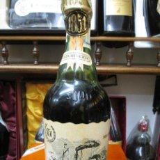 Coleccionismo de vinos y licores: ANTIGUA BOTELLA BRANDY COÑAC, SUAU SOLERA PRIMITIVA 1851-1951, RESERVA ESPECIAL DECADA 70-80. Lote 107833283