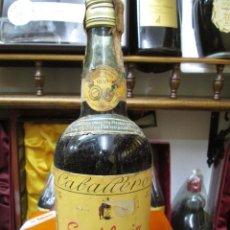 Coleccionismo de vinos y licores: ANTIGUA BOTELLA BRANDY COÑAC, SORTILEGIO 1830 IMPUESTO DE 4 PTS, DECADA AÑOS 60-70. Lote 107835195