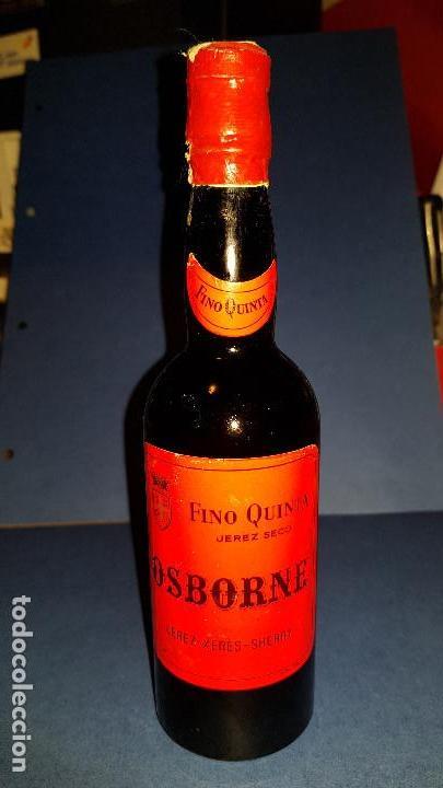 FINO QUINTA JEREZ OSBORNE (Coleccionismo - Botellas y Bebidas - Vinos, Licores y Aguardientes)