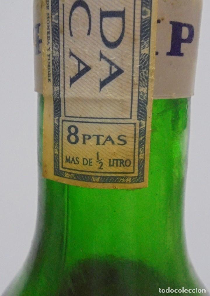 Coleccionismo de vinos y licores: BOTELLA DE ABSENTA 68. lE VRAI ABSINTHE. 60º. CERRADA. 1 LITRO. VER FOTOS. - Foto 6 - 108967259