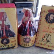 Coleccionismo de vinos y licores: VIEJO BRANDY GRAN DUQUE DE ALBA (BODEGAS ZOILO RUÍZ MATEOS) . Lote 110190755
