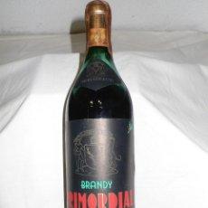 Coleccionismo de vinos y licores: ANTIGUA BOTELLA BRANDY PRIMORDIAL. Lote 110575799