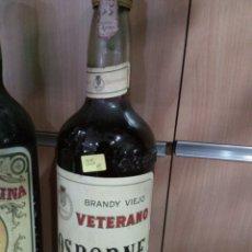 Coleccionismo de vinos y licores: BRANDY VIEJO. VETERANO OSBORNE.. Lote 111888922