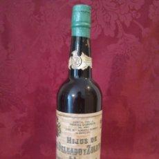 Coleccionismo de vinos y licores: BOTELLA DELGADO ZULETA ANTIGUA SANLUCAR DE BARRAMEDA. Lote 112338279