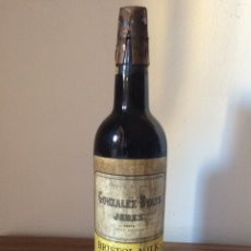 Coleccionismo de vinos y licores: JEREZ GONZALEZ BYASS / JEREZ SEDOSO. Lote 112563994