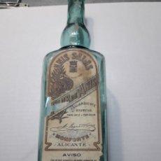 Coleccionismo de vinos y licores: BOTELLA ANTIGUA DE ANÍS SALAS RARA. Lote 112659443