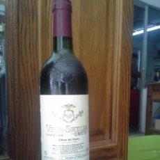 Coleccionismo de vinos y licores: BOTELLA DE VINO VEGA SICILIA ÚNICO DE 1985. Lote 112981778