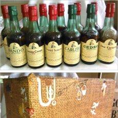 Coleccionismo de vinos y licores: PACK DE 12 BOTELLÍN. WILLIAMS & HUMBERT. COLECCIÓN DE BOTELLAS ANTIGUAS EN MINIATURA. A2000.. Lote 79643413