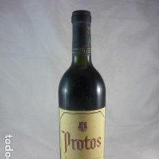 Coleccionismo de vinos y licores: PROTOS GRAN RESERVA 1990 - BOTELLA VINO. Lote 114197823