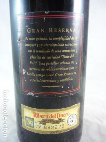 Coleccionismo de vinos y licores: Protos Gran Reserva 1990 - Botella Vino - Foto 5 - 114197823