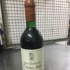 Coleccionismo de vinos y licores: BOTELLA DE VINO COSECHA 1959 BODEGAS FRANCO ESPAÑOLAS SIN COMERCIALIZAR . Lote 114741431