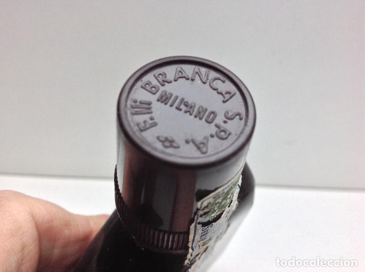 Coleccionismo de vinos y licores: RARA Y ANTIGUA PETACA FERNET - BRANCA 10cl.45º - Foto 4 - 114791211