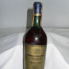 Coleccionismo de vinos y licores: ANTIGUA BOTELLA VINO VIÑA ALBINA VIEJA RESERVA. Lote 115201255