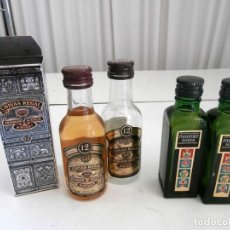 Coleccionismo de vinos y licores: LOTE 4 MINIATURAS DE LICOR. Lote 115206207