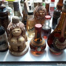 Coleccionismo de vinos y licores: BOTELLIN LOTAZO 71 UNIDADES ALGUNOS MUY BUENOS. Lote 116176363