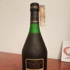 Coleccionismo de vinos y licores: ANTIGUA BOTELLA BRANDY COÑAC, GOITISOLO 1850 RESERVA 5 AÑOS IMPUESTO DE 8 PTS, DECADA 70-80. Lote 131520506
