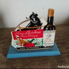 Coleccionismo de vinos y licores: ANTIGUO SERVILLETERO FINO LA INA. Lote 116819919