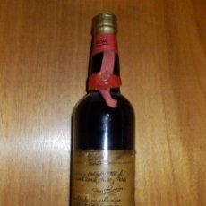 Coleccionismo de vinos y licores: ANTIGIA BOTELLA DE VINO - CARIÑENA - DON RAMÓN VICENTE SUSO Y PEREZ - ENTERA - SIN ABRIR . Lote 117253519