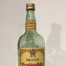 Coleccionismo de vinos y licores: ANTIGUA BOTELLA DE BRANDY ESPLÉNDIDO - JEREZ. Lote 118061286
