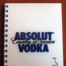 Coleccionismo de vinos y licores: ABSOLUT VODKA - ABSOLUT COLLECTION, AGENDA 2002 - PUBLICIDAD. Lote 124382138