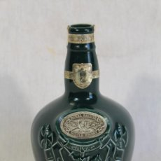 Coleccionismo de vinos y licores: BOTELLA CHIVAS 21 YEARS ROYAL SALUTE SCOTCH WHISKY. Lote 119836995