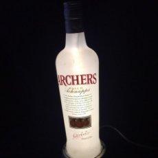 Coleccionismo de vinos y licores: NEON LUMINOSO ARCHERS, PEACH SCHNAPPS. G. WARCHER & Cº LTD. LONDRES.. Lote 120527907