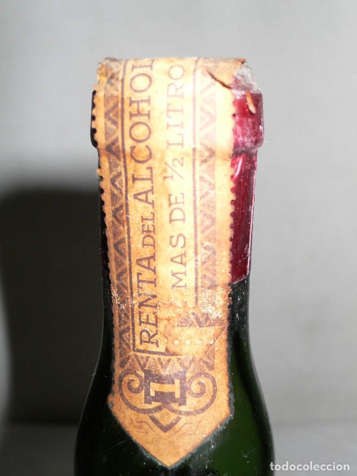Coleccionismo de vinos y licores: ANTIGUA BOTELLA AMER PICON 30º - Foto 6 - 121043715