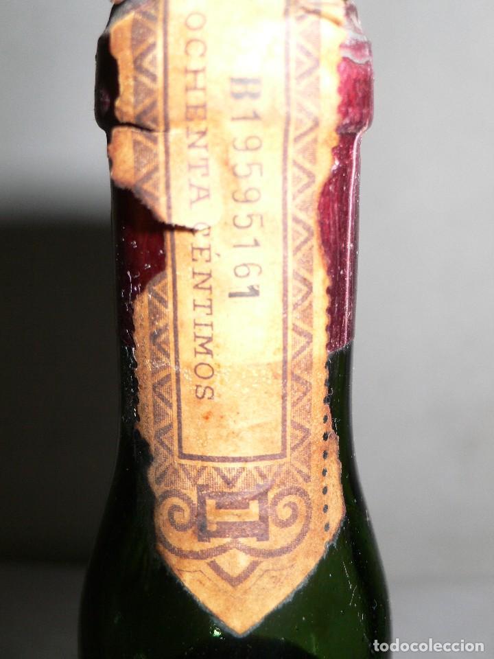 Coleccionismo de vinos y licores: ANTIGUA BOTELLA AMER PICON 30º - Foto 7 - 121043715