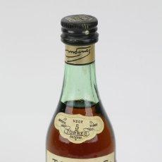Coleccionismo de vinos y licores: BOTELLÍN / BOTELLA MINIATURA - BRANDY TORRES 5 SOLERA IMPERIAL - VILAFRANCA DEL PENEDES -SELLO 1 PTA. Lote 121352248