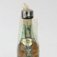 Coleccionismo de vinos y licores: BOTELLÍN / BOTELLA MINIATURA - BRANDY TORRES RESERVA ESPECIAL - SELLO 1 PTA. Lote 121354355