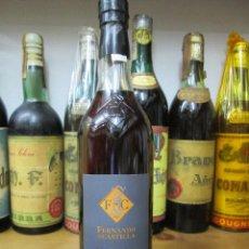 Coleccionismo de vinos y licores: ANTIGUA BOTELLA BRANDY COÑAC, FERNANDO DE CASTILLA SOLERA GRAN RESERVA. Lote 121524907