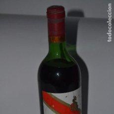 Coleccionismo de vinos y licores: BOTELLA DE VINO DE RIOJA PATERNINA BANDA ROJA DE 1969. Lote 118903111