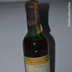 Coleccionismo de vinos y licores: BOTELLA DE VINO DE RIOJA SOLAR DE SAMANIEGO DE 33CL. Lote 121438283