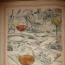 Coleccionismo de vinos y licores: RELAIS GASTRONOMIQUE PARIS-EST,CARTE DES VINS. AÑO 1958, EJ.151 DE 200.PRECIOSA COLECCION GRABADOS . Lote 122671643