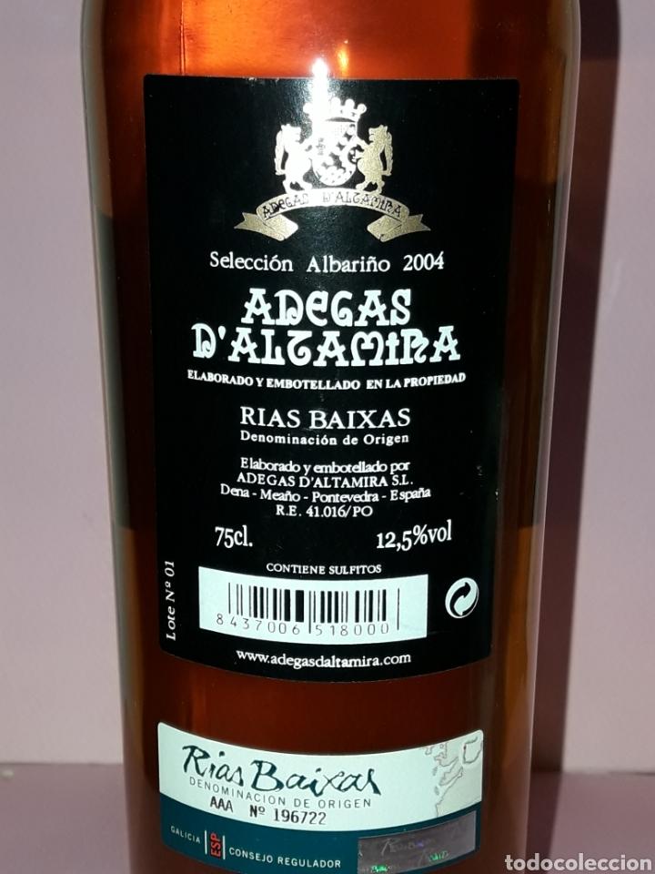 Coleccionismo de vinos y licores: BOTELLA DE VINO ADEGAS D ALTAMIRA RIAS BAIXAS SELECION 2004 - Foto 3 - 122715394