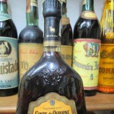 Coleccionismo de vinos y licores: ANTIGUA BOTELLA BRANDY COÑAC, CONDE DE OSBORNE SOLERA GRAN RESERVA. Lote 122978551