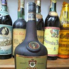 Coleccionismo de vinos y licores: ANTIGUA BOTELLA BRANDY COÑAC, GRAN NAPOLEÒN RESERVA IMPUESTO DE 8 PTS, DECADA 80-90. Lote 122979123
