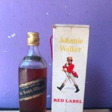 Coleccionismo de vinos y licores: JOHNNIE WALKER RED LABEL EN CAJA. Lote 124328703